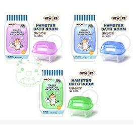 ~浴室~NA~H105~100707~2個 組~倉鼠透明小浴室,10.2^~7.2^~7.