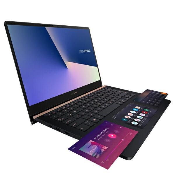 ASUS ZenBook Pro 14 UX480FD-0021A8565U 深海藍 (14吋 / i7-8565U / FHD / 8Gx2 / PCIE 512G M.2 SSD / GTX 1050 MAX Q 4G獨顯 / W10)筆電《全新原廠保固》 1