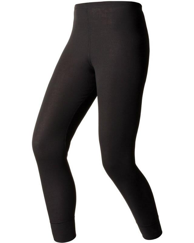 【【蘋果戶外】】odlo 152041 女褲 黑『送polartec手套』瑞士 機能保暖型排汗內衣 衛生衣 發熱衣 保暖衣 長袖