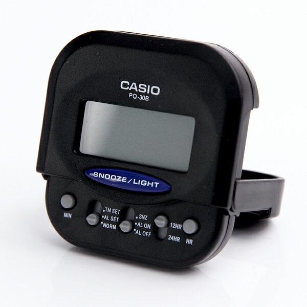 鬧鐘 CASIO輕摺疊旅行電子鐘【NVC9】柒彩年代