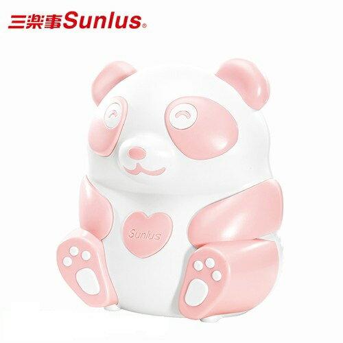 【Sunlus三樂事】熊貝比電動吸鼻器 -(粉紅)