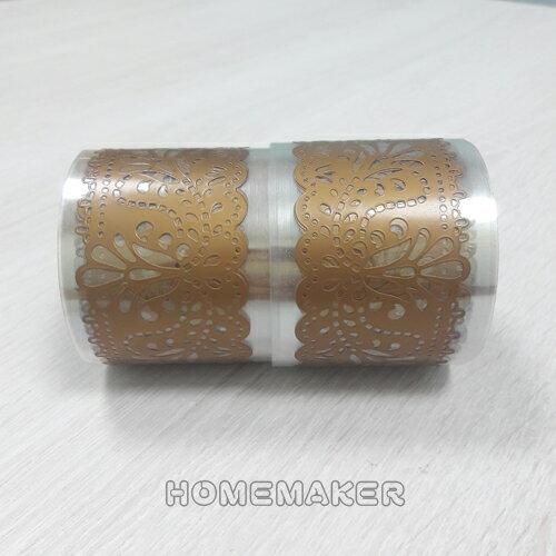 立體浮雕裝飾彩帶(金)_JT-P07002