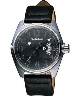 Timberland 天柏嵐 TBL.13679JLUS/02經典logo時尚腕錶/黑面42mm