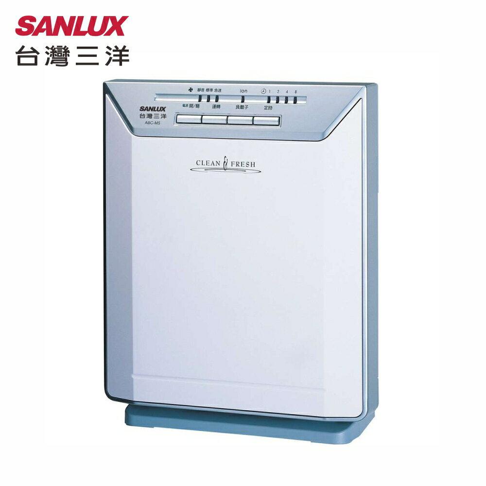 SANLUX 台灣三洋  ABC-M5 空氣清淨機 日本原裝進口三合一濾網(光觸媒 + 抗敏+ 空氣清新)