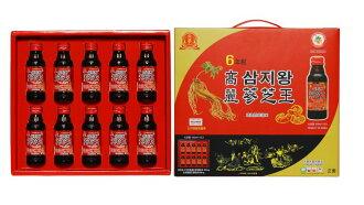 金蔘 6年根高麗蔘芝王 10入/盒◆德瑞健康家◆