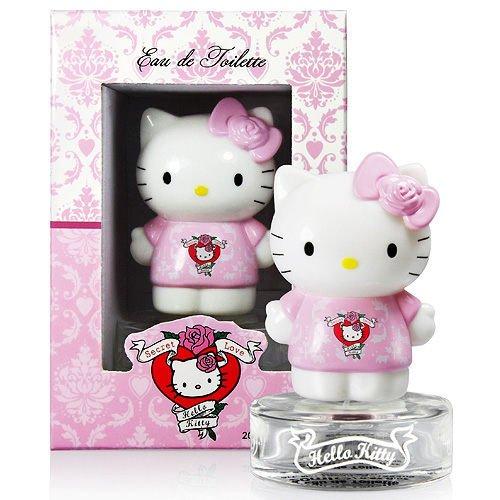 ?單瓶免運? Hello Kitty Secret Love 甜心KITTY女性淡香水 20ML ☆真愛香水★
