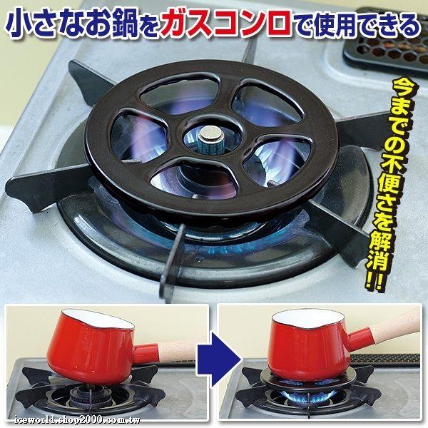日本製 700℃耐熱陶瓷 灶腳架 瓦斯爐專用架427605
