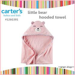 Enen Shöp @Carter's 小碎花粉熊款浴巾/包巾 #126G391 新生兒/彌月禮