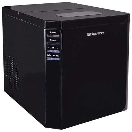 Emerson IM93B Portable Countertop 27 lbs Ice Maker Refrigerator w/Ice Scoop 1