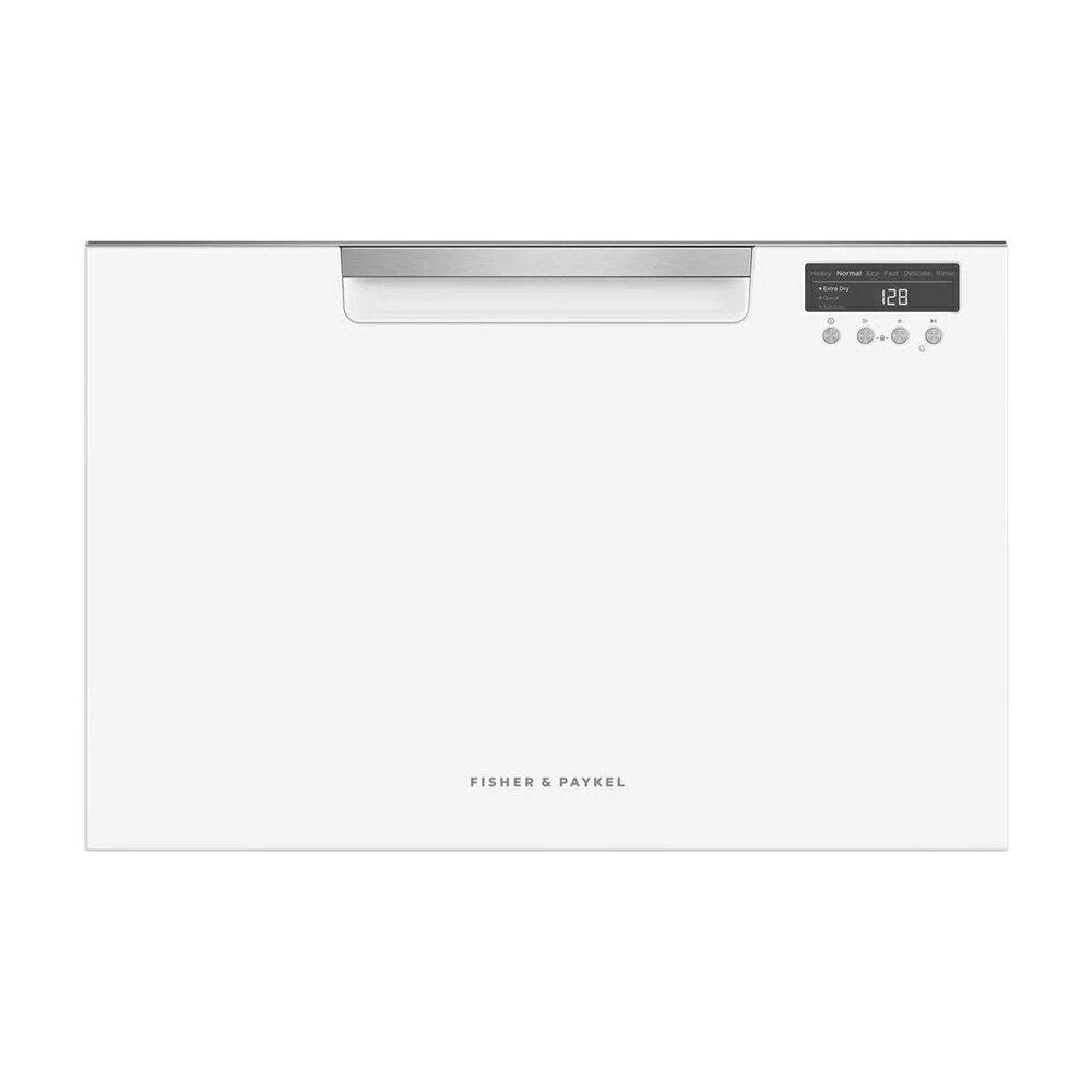 【結帳折$300】【3/31前送好禮2選1】Fisher & Paykel 菲雪品克 ( DD60SCHW9 ) 7人份單層白色抽屜洗碗機 -標準型《送標準安裝+三大尊榮服務》 [可以買]