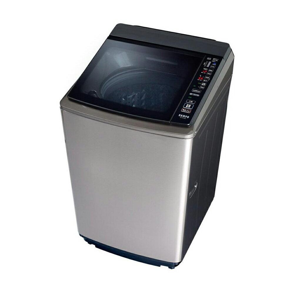 【結帳折$300】【出清品下殺】SAMPO 聲寶 ( ES-KD19PS(S1) ) 18KG PICO PURE 變頻單槽洗衣機《送基本安裝、舊機回收》 [可以買]