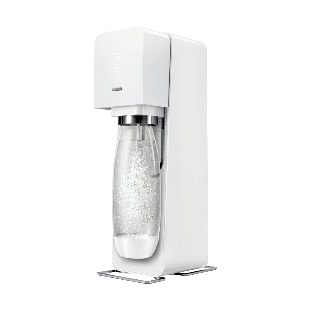 【APP領券9折】Sodastream SOURCE 氣泡水機,瑞士設計師款 - 經典白 [可以買] 1
