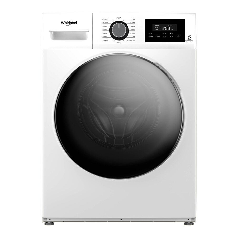 Whirlpool 惠而浦 ( WEHC10ABW ) 10KG Essential Clean 洗脫烘滾筒洗衣機《送基本安裝、舊機回收》 [可以買]