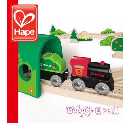 Hape愛傑卡軌道系列-森林組合●德國品牌●木頭玩具●木製