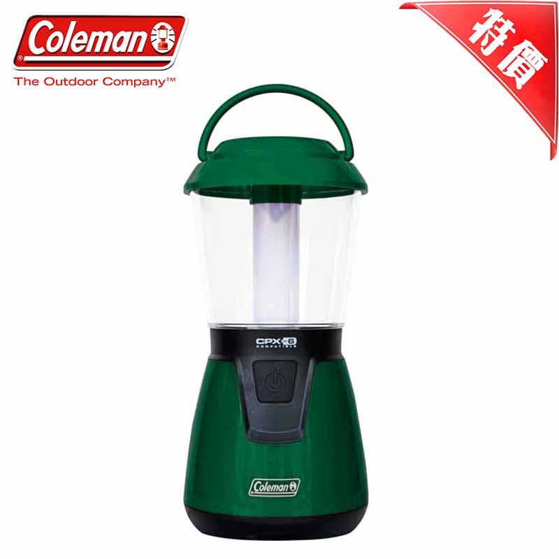【露營趣】特價款 Coleman CM-3151 CPX6單管型LED營燈/綠 露營燈
