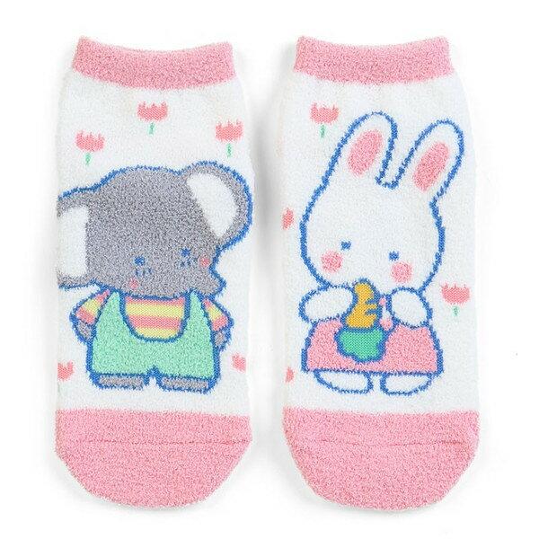 【真愛日本】17091600034 保暖踝襪25cm-兔子紅蘿蔔 三麗鷗家族 襪子 短襪