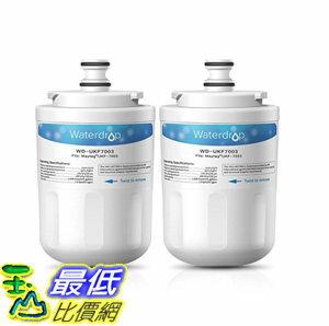 [106美國直購] 濾芯 Waterdrop UKF7003 Replacement for Whirlpool EDR7D1, Maytag UKF7003