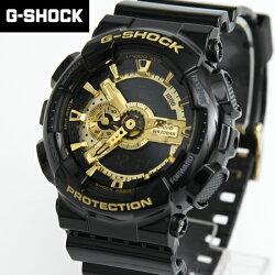 G-SHOCK手錶 黑金雙顯錶 柒彩年代【NECG16】casio