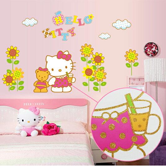 Decor.H Hello Kitty 凱蒂貓 無痕設計壁貼 不傷牆面 展覽 布置 創意 DIY 裝潢 裝飾 防水汽車貼