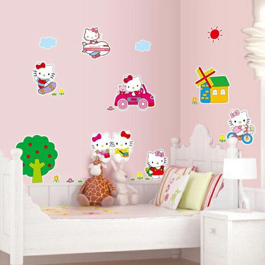 Decor.H 無痕設計壁貼 不傷牆面 展覽 布置 創意 DIY 裝潢 裝飾 Hello Kitty 凱蒂貓