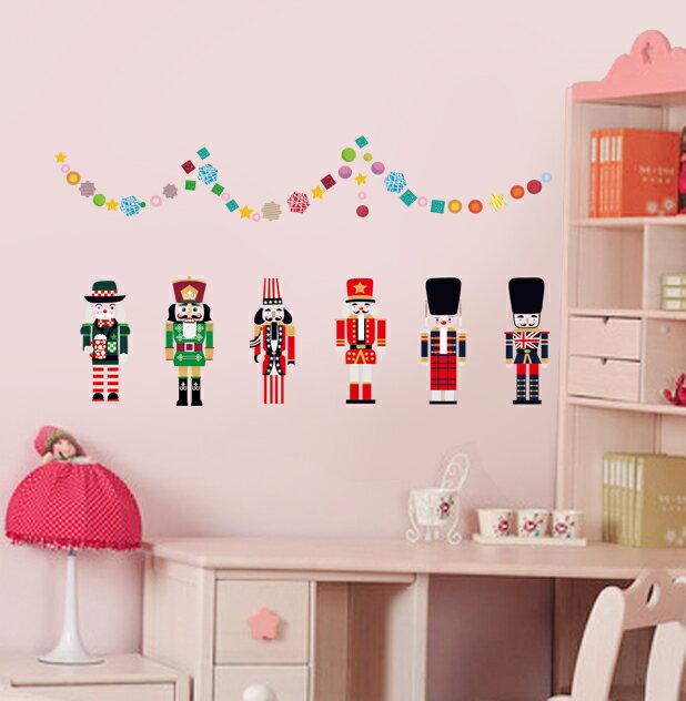 Decor.H 胡桃鉗國王 無痕設計壁貼 不傷牆面 展覽 布置 創意 DIY 裝潢 裝飾