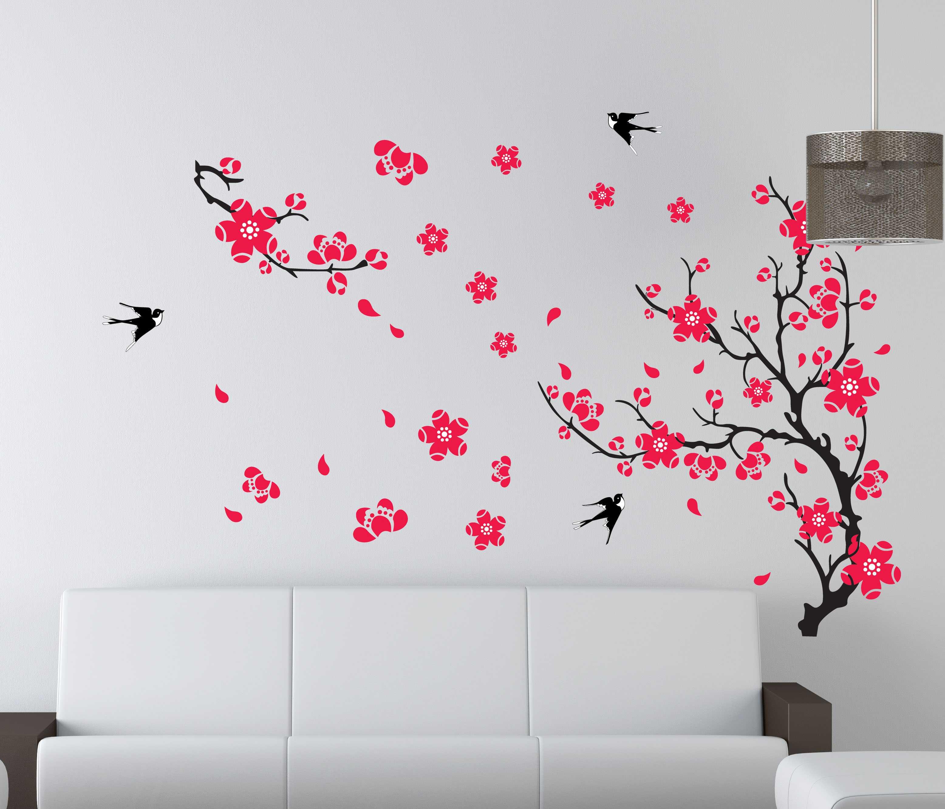 Decor.H 踏雪尋梅 無痕設計壁貼 不傷牆面 展覽 布置 創意 DIY 裝潢 裝飾