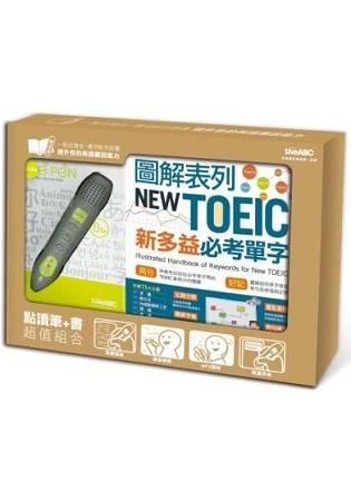 LiveABC —點讀筆 圖解表列NEW TOEIC新多益必考單字
