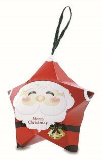 宜勤包裝股份有限公司:【特惠量】聖誕系列星形造型盒聖誕老公公大1000個