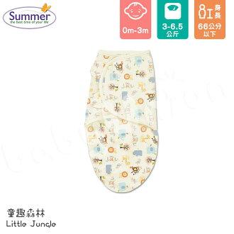 Summer Infant - SwaddleMe - Original 聰明懶人育兒包巾 - 童趣森林