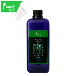 【karoli卡蘿萊】超高濃度水竹檀香精油補充液 1000ml 大容量 擴香竹專用精油