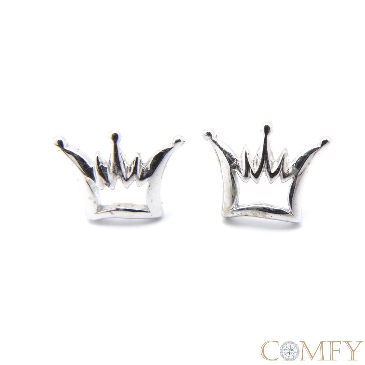 【Comfy禾米】~時尚慶典*女王皇冠~ 925純銀耳環