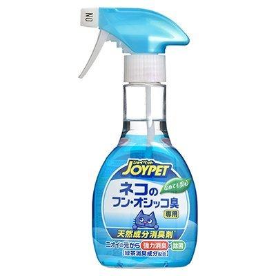 日本寵倍家joypet寵物天然消臭劑尿後排泄(愛貓用)270ml