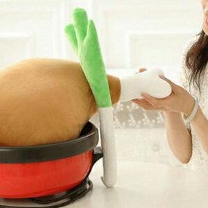 美麗大街【FS009】創意吃貨大蔥抱枕靠墊卡通搞怪公仔布娃娃交換禮物