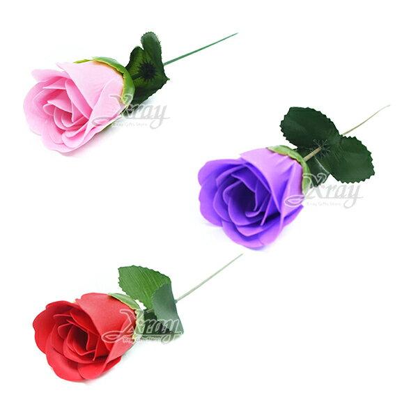 X射線【Y100001】香水玫瑰一枝(4枝100),春節過年人造花花材裝飾假花插花母親節