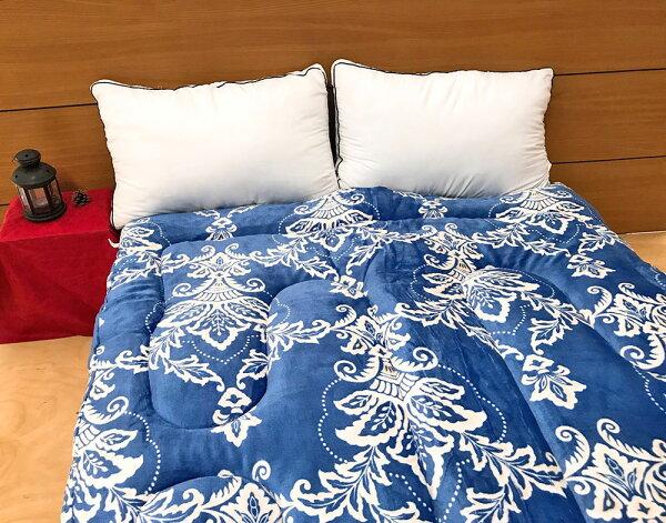 法蘭絨被鋪棉厚款暖暖被