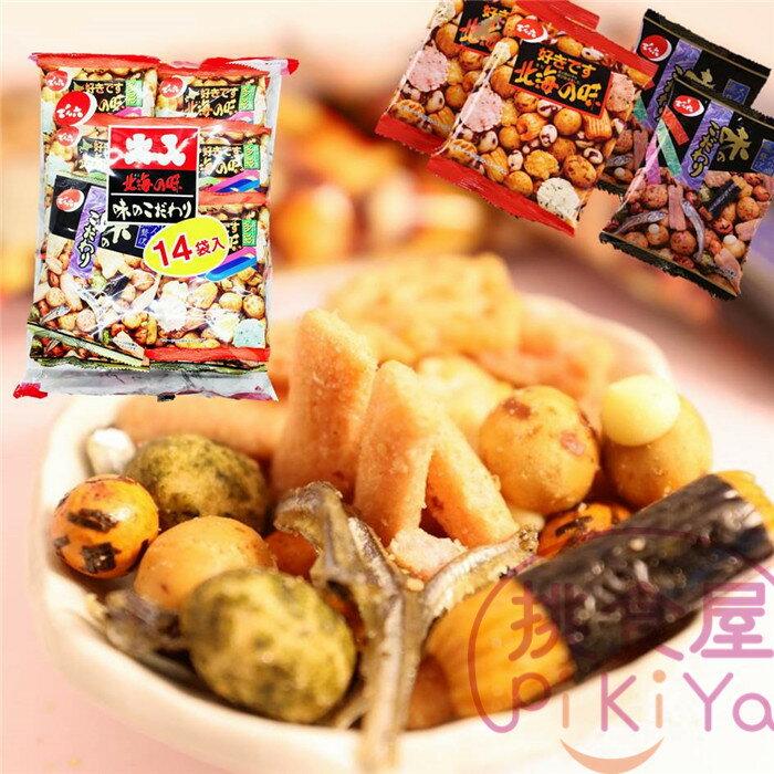 【天六/傳六】二色綜合豆果子14袋入 北海之味x7 好味餅x7 341.6g ▶全館滿499宅配免運