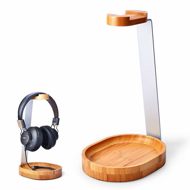 Avantree TR902 鋁合金+木質耳機架《SV8523》快樂生活網