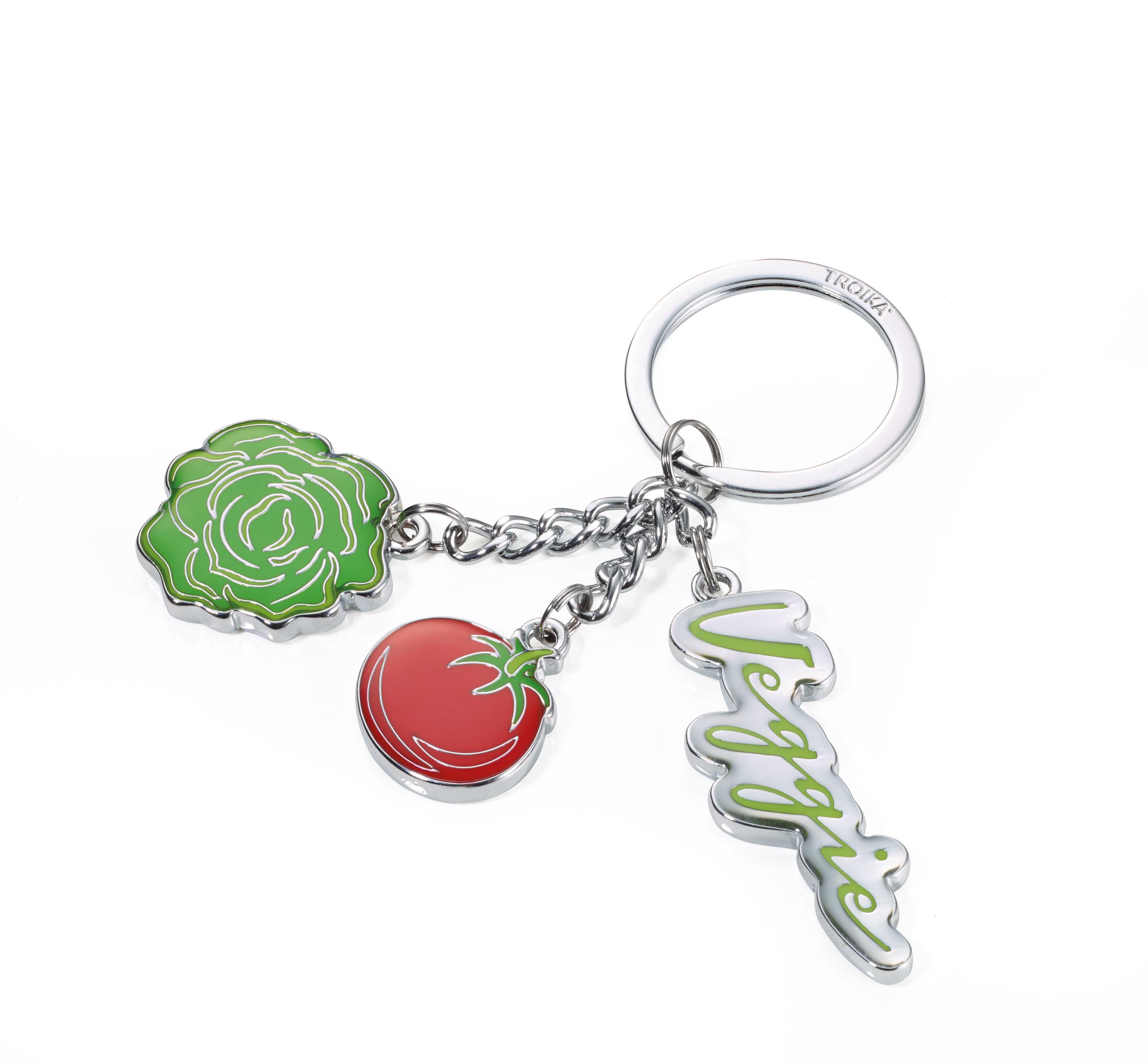 [TROIKA]美顏蔬果金屬鑰匙圈