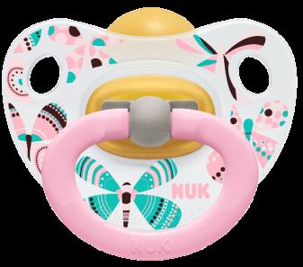 『121婦嬰用品館』NUK 印花乳膠安撫奶嘴 - 初生 (2入) 2
