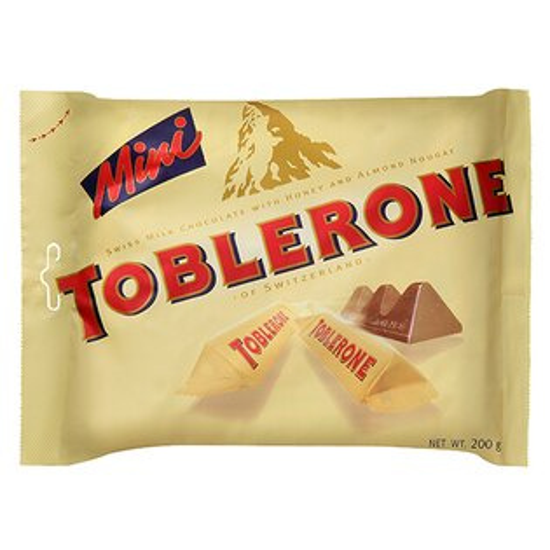 TOBLERONE瑞士三角迷你巧克力200g【愛買】