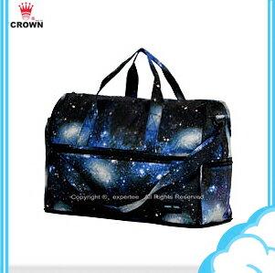 全新改版 【騷包館】 HAPITAS 新色上市1 可後插手提二用摺疊旅行袋 H0002-227 摺疊旅行袋(小)= 太空宇宙