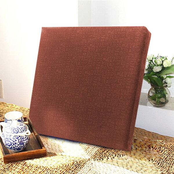 巴芙洛家居生活館:【巴芙洛】雅至厚坐墊55X55X5cm-咖啡色款