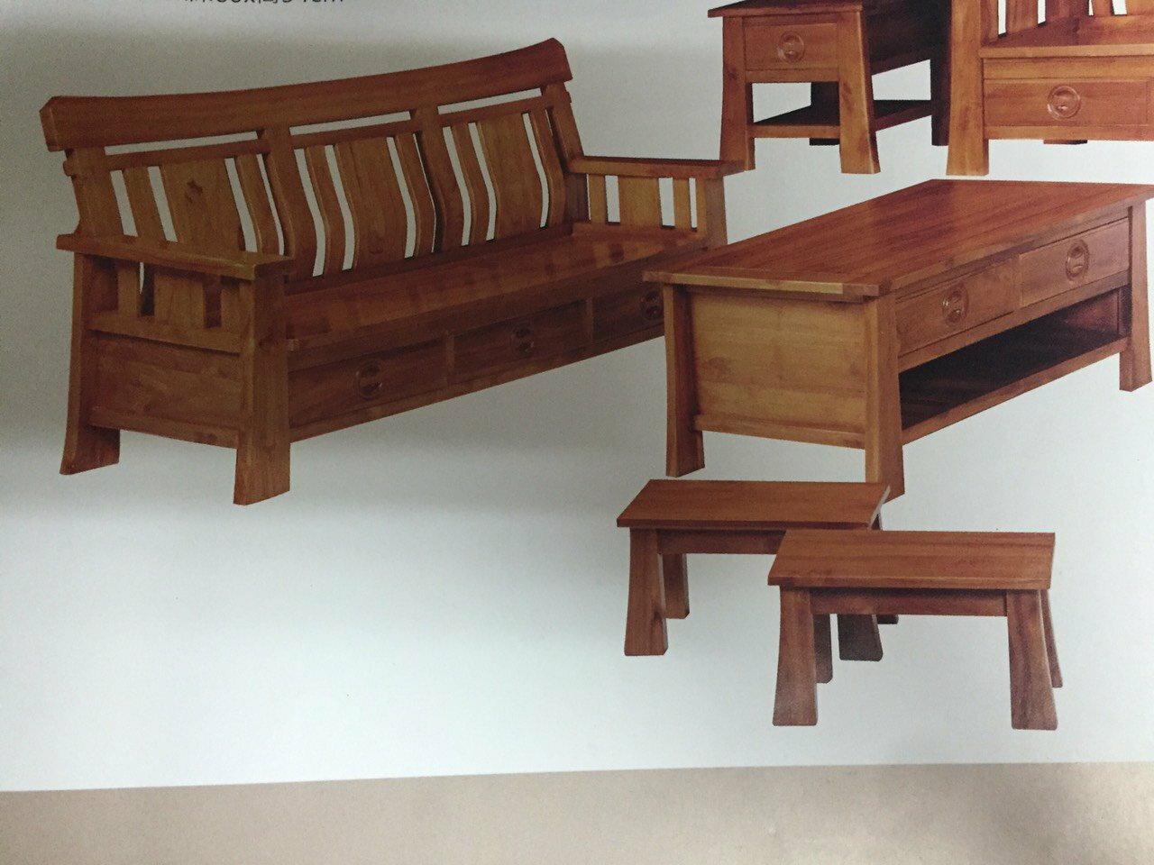 【石川家居】KL-09 柚木英式組椅 台中以北搭配車趟免運費