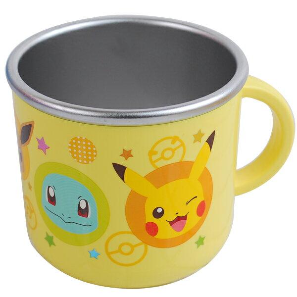 皮卡丘不鏽鋼杯210ml,水杯/馬克杯/杯瓶/茶具/湯杯/玻璃杯/不鏽鋼杯,X射線【C064815】
