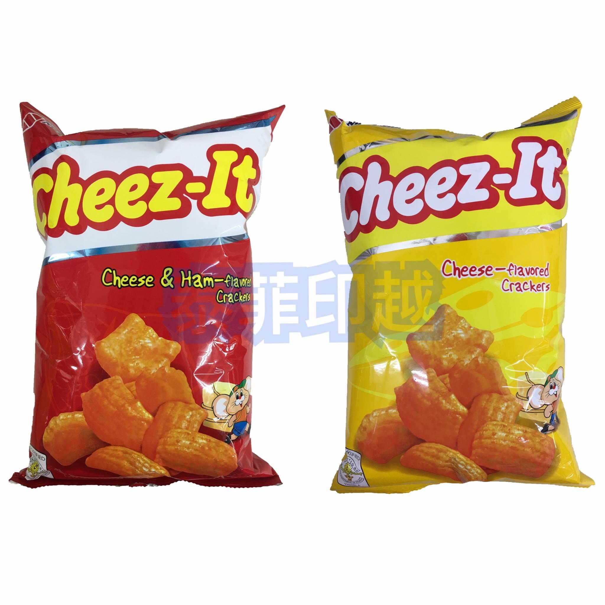 菲律賓 CHEEZ-IT 起司 火腿起司 風味餅乾