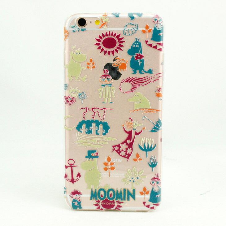 TPU手機殼-Moomin嚕嚕米授權【歡樂谷的夏日】《 iPhone/ASUS/HTC/LG 》