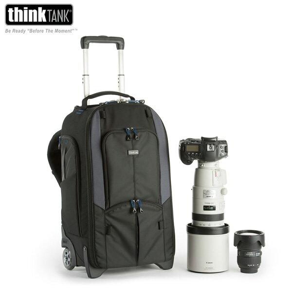 ◎相機專家◎ThinkTank街頭旅人行李箱滾輪拉桿箱相機後背包TT497TTP497SW497公司貨