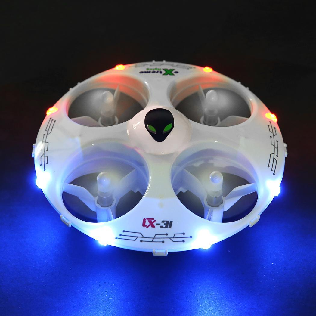 White Cheerson CX-31 2.4G 4CH 6Axis Eversion Headless RC Quadcopter Drone 3