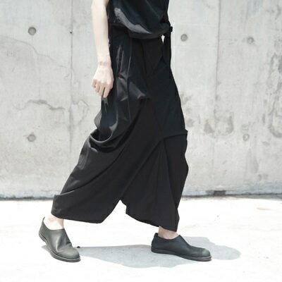 ☆九分褲裙-個性有型時尚不規則女褲子73sp20【獨家進口】【米蘭精品】