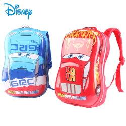 正版迪士尼幼兒園書包汽車總動員立體麥昆 男寶寶2-4-6學前班兒童雙肩背包